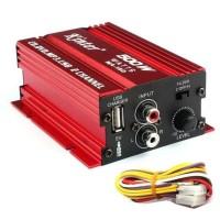4146 Kinter Amplifier Speaker 2 channel 500W - MA150 - Red