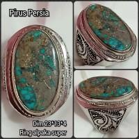 cincin batu akik permata pirus persia z