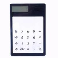 Kalkulator Elektronik Transparan