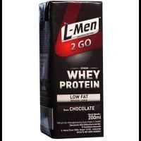 HOTSALE L-MEN 2 Go Low Fat Chocolate 200ml OPEN DS
