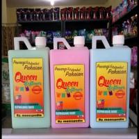 ON SALE Pewangi dan Pelembut Pakaian Queen Softener 1 Liter TERBARU
