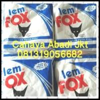 Produk Terbaru Lem Fox Putih 350Gr Biru Slime / Kertas / Kayu