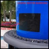 "Barang Terbagus Flex Tape 4"" 1.5M Lakban Ajaib Lem Isolasi Waterproof"