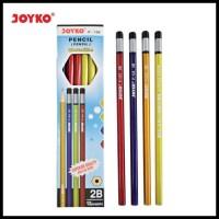 Produk Promo Pencil / Pensil Joyko P-104 / 2B / Metallic / 1 Box 12