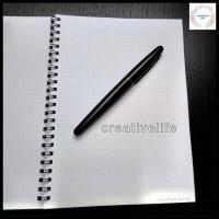 Item Promo Notebook Spiral Dot Grid A5 | Buku Catatan