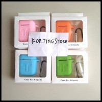 Unit Terbagus Apple Airpods Case Protection Silicone Pouch / Casing
