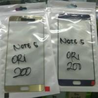 Kaca lcd Samsung Note 5 Original digitizer gorila Glass kaca depan