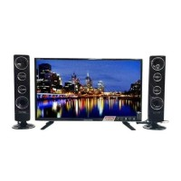 "POLYTRON LED TV 32Inch PLD 32T1506 32"" With Tower Speaker"
