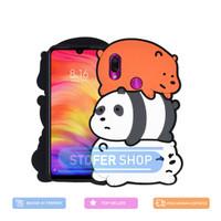 3D Case WE BEAR Xiaomi Redmi Note 7 / Note 7 Pro Softcase 4D Karakter