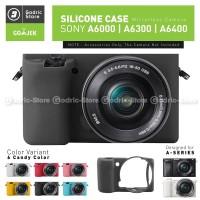 Silicone Sony Alpha A6400 A6300 A6000 Silikon Case / Sarung Silicone - Hitam, A6000
