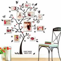 Wall Sticker model Pohon - Family Tree Wallpaper - Tanpa Bingkai Foto
