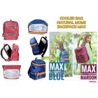 PMS166 COOLER BAG NATURAL MOMS BACKPACK MAX TAS ASI