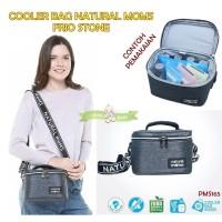 PMS165 COOLER BAG NATURAL MOMS FRIO STONE TAS ASI