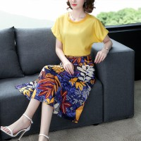 Aute Season New Fashion Goddess Fan Suit Skirt Foreign Gas
