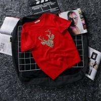 Aute New Loose Fashion Cartoon Girls Short-sleeved T Shirts