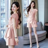 Aute Casual Suit Shorts Women's Fashion New Temperament Waist