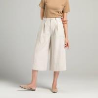 Aute Brand Women's Linen Wide-leg Pants Women's Large Size Was