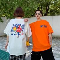 Aute 922# 6535 Cotton Lovers Short-sleeved T-shirt Women