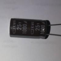 500 PCS KAPASITOR / ELCO 1000uf 25V 1000 UF 25V