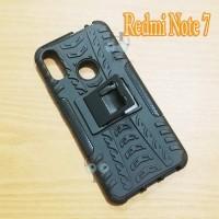 Xiaomi Redmi Note 7 Combination Case Kick Stand Rugged Hardcase