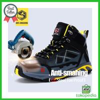 Original branded Sepatu safety pria Boots sneakers trendy terbaik 2019