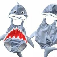 Baju Renang Bayi Laki Perempuan Gambar Hiu