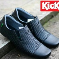 sepatu kickers loafers slip on casual slop formal pria gudang sepatu