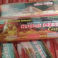 KUDA MESIR GOLD ORIGINAL   Herbal Kuat Tahan Lama Khasiat Mantap