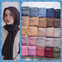 pashmina shawl arabian crinkle pasmina arab impor hijab jilbab ombre