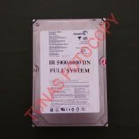Hardisk mesin fotocopy canon IR 5000/6000 DN Full System