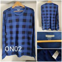 Kaos Lengan Panjang Old Navy Thermal Knit Waffle Original - ON02