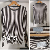 Kaos Lengan Panjang Old Navy Thermal Knit Big Size Original - ON05