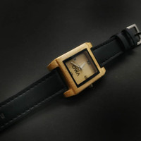 Jam tangan kayu original brand lokal