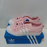 Sepatu Sneakers Adidas Originals Nizza Women Pink CQ2539 Original