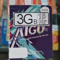 VOUCHER Axis 3gb 15 hari 24 Jam KUOTA 3 GB