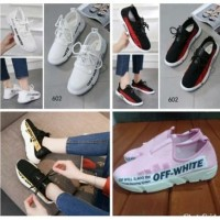 Sepatu Kets Cewek OFF WHITE