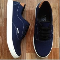 Sepatu casual New Vans clasic Navy Limited Edition V1