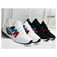 Sepatu Kets Cewek Fashion Webbing Warna Polos
