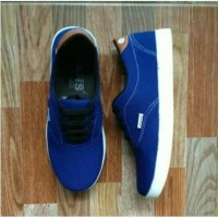 Sepatu sport New Vans clasic blue limited edition V5