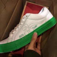 Converse x Golf le Fleur Golf Wang Color Block White Green ORIGINAL
