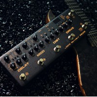 Neu NUX Cerberus Multi Function Guitar Effect Pedal Integrated