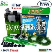 JEBO 625 Aquarium Aquascape External Filter