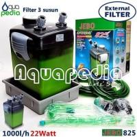 JEBO 825 Aquarium Aquascape External Filter
