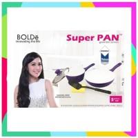 5pcs Super PAN Keramik purple Set 5 Original BOLDe Panci Keramik Premi