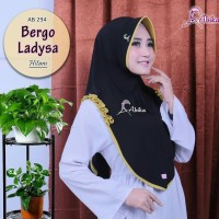 Kerudung jilbab hijab bergo Ladysa