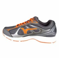 Calci Sepatu Lari Running New York Grey Orange Size 41