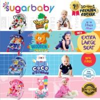 Bouncer Bayi Sugar Baby 10 In 1 Premium Rocker NEW MOTIF#