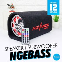Speaker Aktif Advance T-101BT Bluetooth