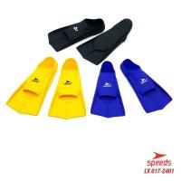 Kaki Katak Sepatu Katak Kodok Fins Fin Renang Selam Diving Snorkeling - Kuning, XS