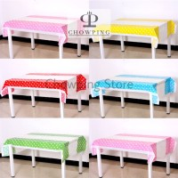TABLE COVER / TAPLAK MEJA POLKADOT